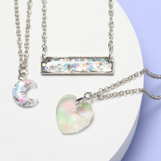 Girl' 3pk Layered Necklace et - More Than MagicTM