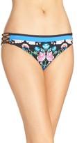 Nanette Lepore Women's Damask Floral Charmer Bikini Bottoms