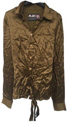 Jean Paul Gaultier Khaki Top for Women Vintage