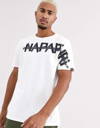 Napapijri Solt t-shirt in white
