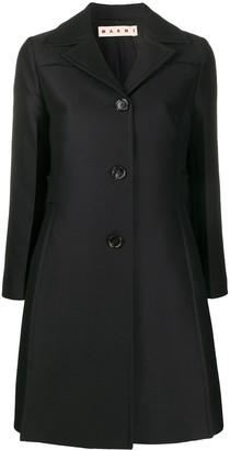 Marni A-Line Midi Coat
