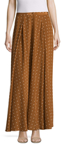 Diane von Furstenberg Dotted Maxi Skirt