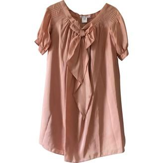 Paul & Joe Sister Pink Silk Dress for Women