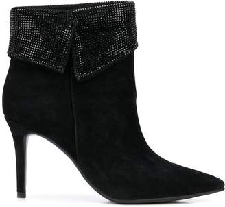 Lola Cruz pointed ankle boots