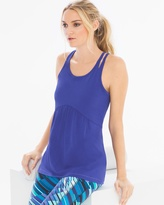 Soma Intimates Strappy Cotton Blend Yoga Tank Top