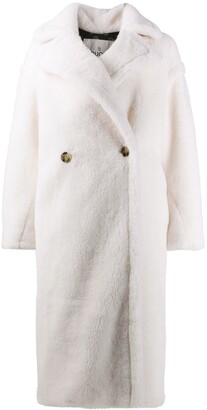 Ducie Double-Breasted Fur Coat