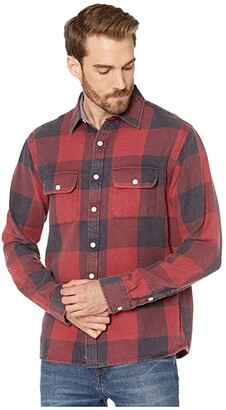 The Normal Brand Mountain Overshirt (Blue) Men's Clothing