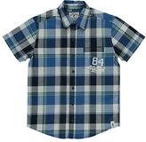 Manguun Plaid Woven Sport Shirt