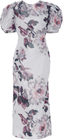 Brock Collection Damara Lace-Up Back Dress