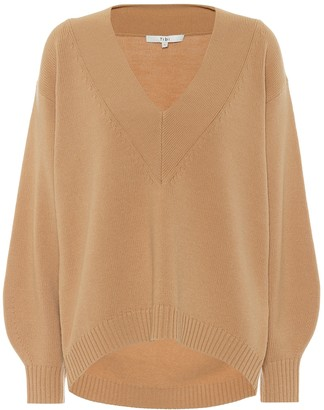 Tibi Airy wool-blend sweater