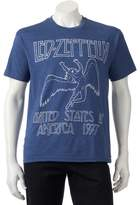 Men's Led Zeppelin USA 1977 Band Tee