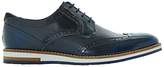Bertie Baker Hill Gibson Leather Wingtip Shoes