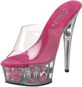 Pleaser USA Women's DELIGHT-601FL/C/HP Platform Sandal