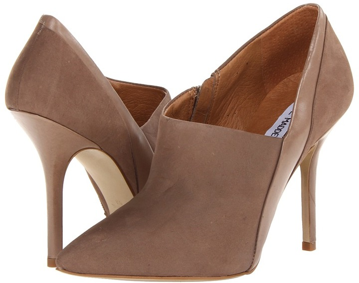 Steve Madden Alesssa (Taupe Nubuck) - Footwear