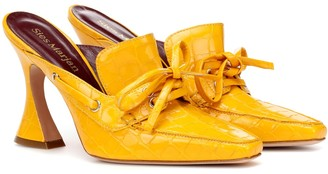 Sies Marjan Remi 100 patent leather mules