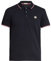 Moncler Logo-appliqué short-sleeved polo shirt