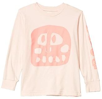 Nununu Mega Rowdy Mask Shirt (Infant/Toddler/Little Kids) (Powder Pink) Girl's Clothing