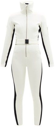 Cordova Belted Technical-twill Ski Suit - White