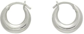Sophie Buhai Silver Tiny Essential Hoop Earrings