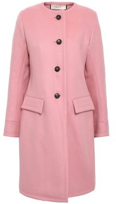 Marni Wool, Cashmere And Angora-blend Coat