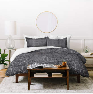 Deny Designs Holli Zollinger Marrakeshi Denim Twin Duvet Set Bedding