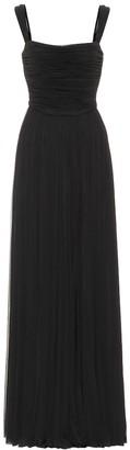Alexander McQueen Jersey gown