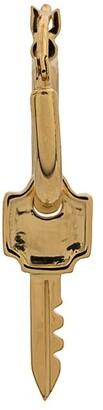 Northskull key hoop earring