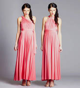 In One Clothing Multi Way Maxi Length Bridesmaid Dress