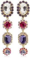 Dolce & Gabbana Crystal Drops Clip-On Earrings