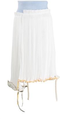 Loewe Deconstructed Pleated Midi Skirt