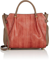 Nina Ricci WOMEN'S MARCHÉ PM SATCHEL-BROWN