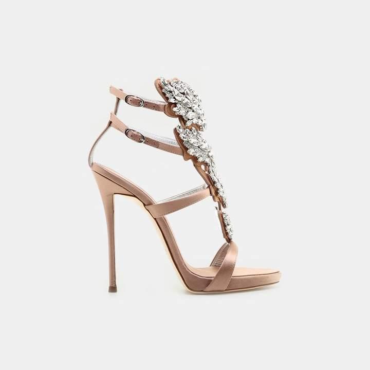 Giuseppe Zanotti Strappy Embellished Sandal