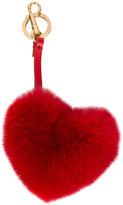 Anya Hindmarch heart bag key ring