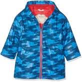 Hatley Boy's Zip up Splash Jacket Raincoat,3 Years