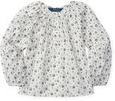 Ralph Lauren Floral Cotton Batiste Top