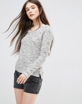 Only Heathered Sweater