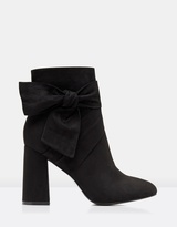 Forever New Bow Tie Ankle Boots