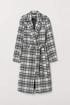 H&M - Wool-blend Coat - White