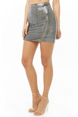 Forever 21 Sequin Bodycon Skirt