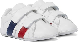 Moncler Enfant Baby leather sneakers