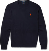 Polo Ralph Lauren - Slim-fit Pima Cotton Sweater