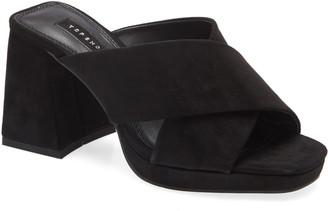 Topshop Spice Platform Slide Sandal