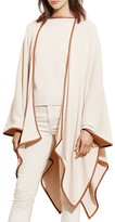 Lauren Ralph Lauren Draped Cape Cardigan
