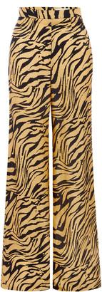 USISI SISTER Women's Antonia Tiger-Print Pants - Animal - Moda Operandi