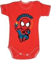 Colour Fashion Baby Spiderman Bodysuits Shortsleeve 100% Cotton 0 - 24 months 0003