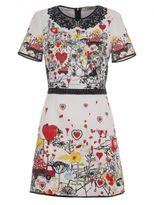 Piccione Piccione Printed Dress