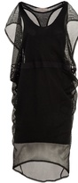 PREEN - Double-layer mesh dress