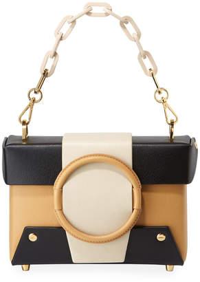 Yuzefi Asher Colorblock Leather Shoulder Bag