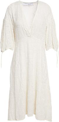 IRO Rise Broderie Anglaise Cotton-gauze Dress