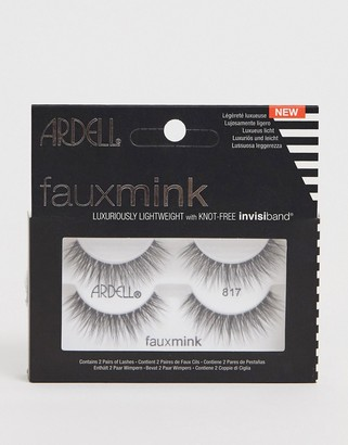 Ardell Faux Mink Lashes 817 Twin Pack-Black